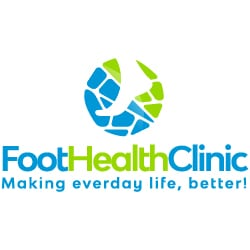 Foot Health Clinic icon top logo