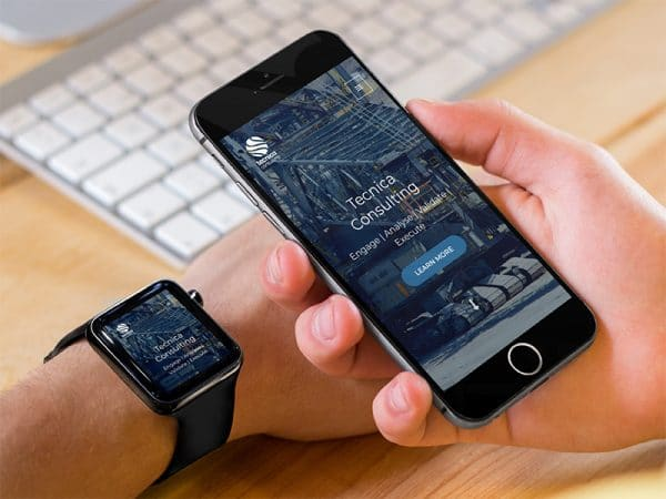 apple watch and iphone at office why responsive website design