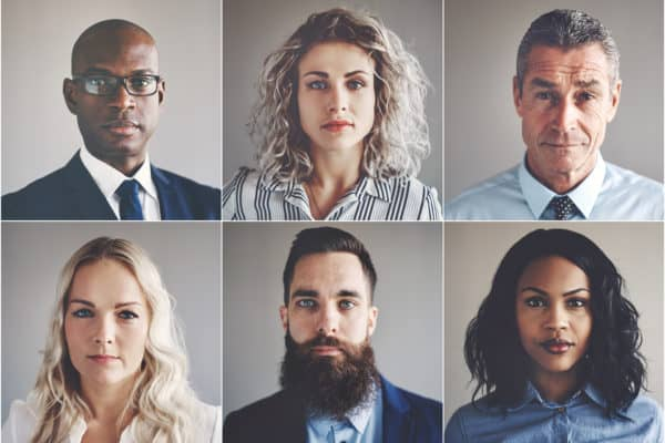 buyer personas ethnically diverse group of business persons