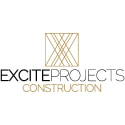 excite projects construction logo