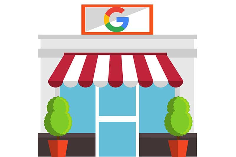 google my business shopfront