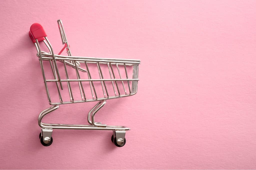 shopping cart buy now pay later