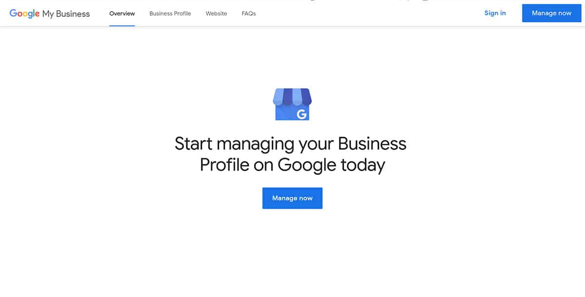 the importance of having a google my business profile start gmb