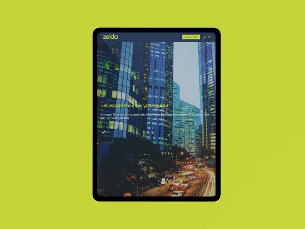 zelda ipad pro mockup color backdrop 1